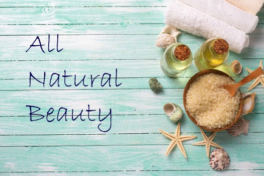 All natural beauty header
