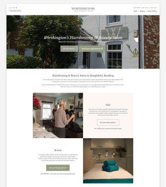 homepage salon
